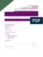 Wizair E-ticket Dus-Intors (8 Iunie-16 Iunie 2010)