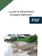 May 26 Update on Kahala Beach Ecological Nightmare