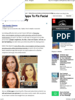 10 Photo-Editing Apps to Fix Facial Imperfections Easily - Hongkiat