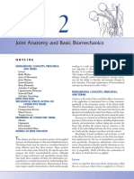 Biomecanica_Kinematics - Joint Anatomy and Basic Biomechanics