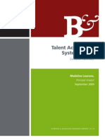 RS Talent Acquisition Systems 2010 Executive Summary Bersin 21pgs