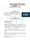 Reglamento de Elecciones 2016