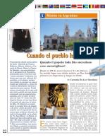 Articulo de la Revista Gesu Risorto