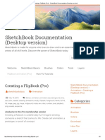 Creating a FlipBook (Pro) - SketchBook Documentation