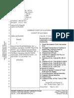 Shaun White Legal Complaint