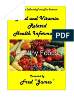 Food & Vitamin Related Health Relaterd Articles - Vol 1