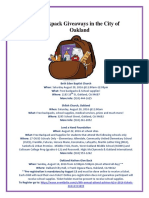 city of oakland backpack giveaways flyer 2016