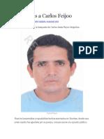 Buscamos a Carlos Feijoo