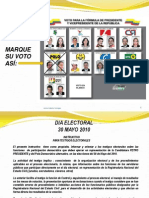 Instructivo Para Testigos Electorales Polo Democrático Alternativo