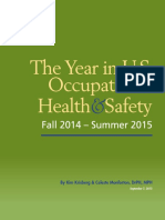 The Year in U.S. Occupational Health & Safety 2015
