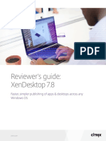 Xendesktop Reviewers Guide