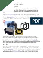 The Cokin Creative Filter System _ Explora