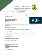 Surat Pelantikan 2016
