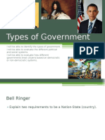 day 3 - types of government use this