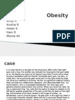 Persentasi Obesity