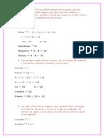 Ejercicios de Matemnatica