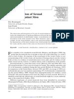 Beauregard & Proulx . 2007). a Classification of Sexual Homicide Against Men
