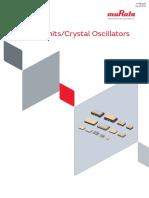 Murata Products Crystal Units p79e