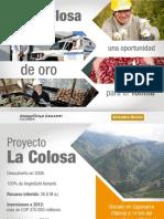 Presentacion Final Proyecto La Colosa (Pi2) Uecci