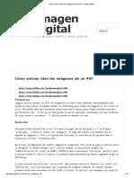 Cómo Extraer Bien Las Imágenes de Un PDF _ Imagen Digital