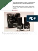 Kit de Esmaltes Black - O Boticário - Eu Capricho _ Eu Capricho