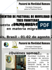 Pastoral de Movilidad Humana - Conferencia Episcopal Peruana