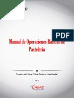 Manual Operaciones Basicas de Pasteleria