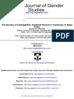 The Burden of Intelligibility