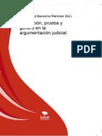 Abduccion Prueba y Genero en La Argumentacion Judicial