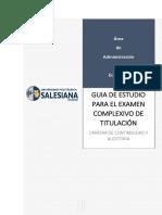 Guia Compilada Universidad Salesiana Examen completivo