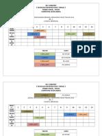 Jadual Penggunaan Bengkel Kemahiran Hidup Tahun 2014