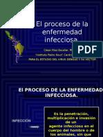 El Proceso de La Enfermedad Infecciosa