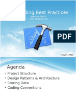 iOS coding best practiques