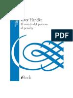Handke Peter - El Miedo Del Portero Al Penalty