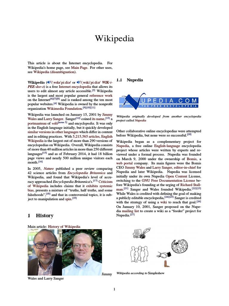 Wikipedia   Wikipedia   Internet