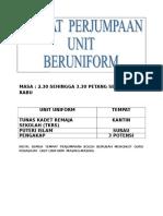 MASA & TEMPAT LAKSANA 2016 UNIFORM.doc