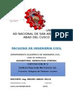 Hidrologia General Exposición 2