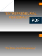 Entrepreneurial Personality(Group 2)