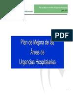 Plan Mejora Urgencias Hospitalarias