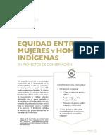 Fascículo Equidad Entre Mujeres y Hombres Indigenas