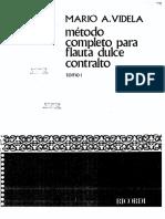 Flauta Contralto Mario Videla