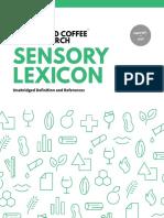 WCR Sensory Lexicon Edition 1.1 2016