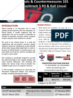 Hacking Threats & Countermeasures 101 (1)