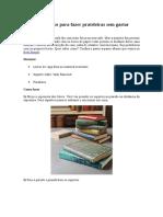 Use Livros Velhos Para Fazer Prateleiras Sem Gastar Nada