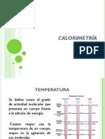 10- Calorimetría