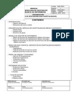 Estructura Organica Organizacion Hospitalizacion