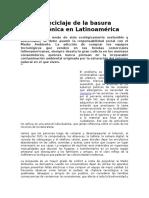 Lectura Basura Cero Latinoamerica