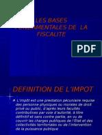 Les Bases Fondamentales de La Fiscalité