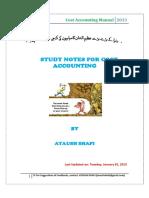 Cost Accounting Manual