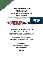 estructuras de organizacion PMBOK